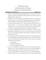 Addis Ababa University Addis Ababa Institute of ... - Yidnekachew