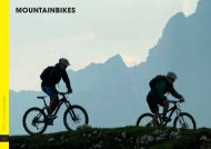 mountainbikes - Radsport von Hacht