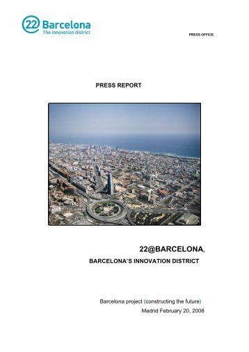 22@Barcelona press dossier