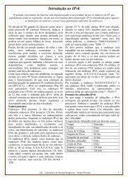 Introdução ao IPv6 - LSI - USP