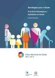 Qualidade em Saúde - Plano Nacional de Saúde 2012 – 2016