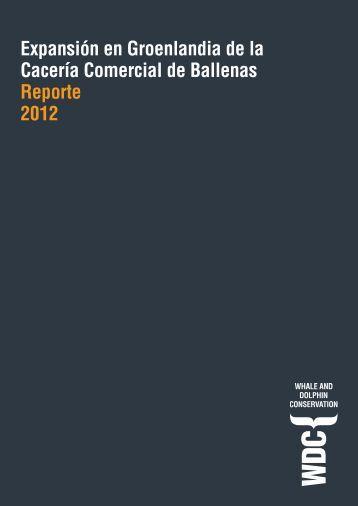 Puedes leer el reporte de la investigación encubierta ... - WDCS