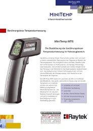 MiniTemp MT6 - Meyer Messtechnik