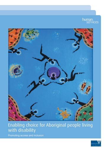 Enabling choice for Aboriginal people living with disability (PDF