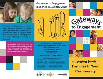 Gateways - The Jewish Education Project