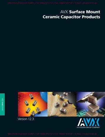 Capacitance Range - Weltron Elektronik GmbH