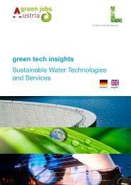 vorliegende Folder - Wasser, Klimawandel & Hochwasser