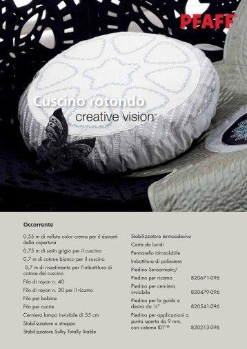 Cuscino rotondo (PDF) - Pfaff