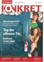 www.st-poelten .gv.at Nr. 1 0/ 2009