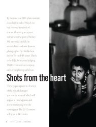 Shots from theheart