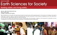 Building safety and living safety - International Year of Planet Earth