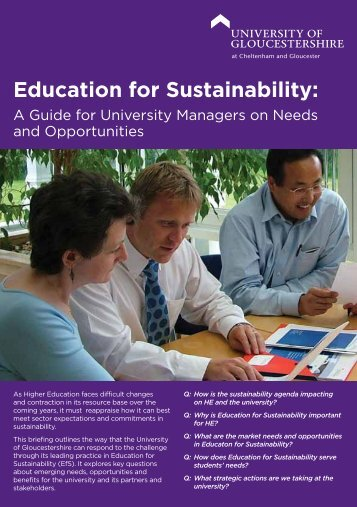EfS Managers Guide - Guide to Quality and Education for ...