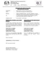 Perpindahan Pejabat Laut Pasir Gudang. - Jabatan Laut Malaysia