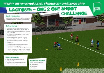 lacrosse - One 2 One Shoot Challenge - School Games