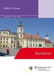 Rumänien – Ausbildung, Studium, Beruf