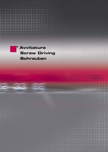 Avvitatura Screw Driving Schrauben - Sea