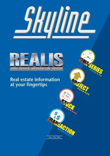 Real estate information at your fingertips - Urban Redevelopment ...