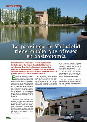La provincia de Valladolid tiene mucho que ofrecer en ... - TAT Revista