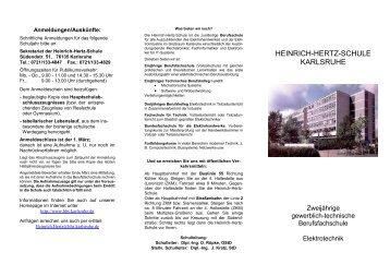 HEINRICH-HERTZ-SCHULE KARLSRUHE - hhs.ka.bw.schule.de ...