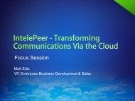 IntelePeer - UCStrategies.com
