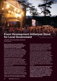 March 2011 - Tourism and Events - Local Government Association ...