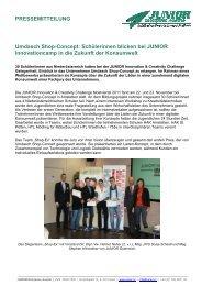 PRESSEMITTEILUNG Umdasch Shop-Concept: Schülerinnen ...