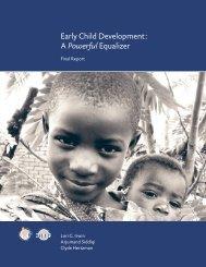 Early Child Development - World Health Organization