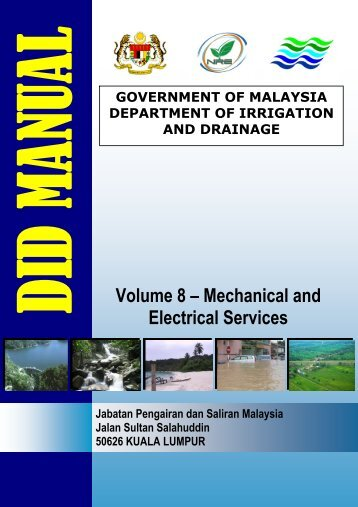 Volume 8 – Mechanical and Electrical Services - Malaysia Geoportal