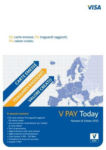 Circuito V Pay : Carta di debito internazionale a doppia tecnologia