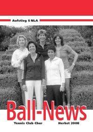 Tennis Club Chur Herbst 2008 Aufstieg S NLA