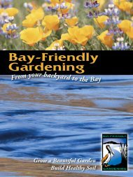 Bay-Friendly Gardening - the Bay-Friendly Coalition