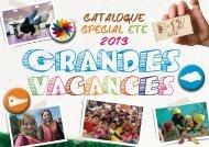 Catalogue Grandes vacances 2013 - Ville de Roubaix