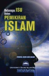 Beberapa Isu Dalam Pemikiran Islam2.pdf - USIM - Universiti Sains ...