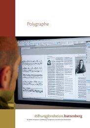 Polygraphe - Fondation Battenberg