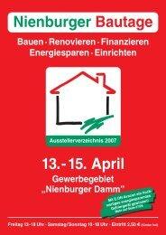 Nienburger Bautage 13.-15. April - Rainer Timpe GmbH