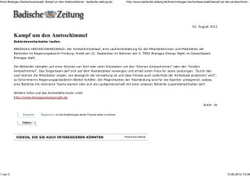 02.08.2012 - Breisgau Energy Night
