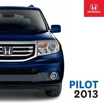 Honda Pilot 2013 FR.pdf - Honda Canada