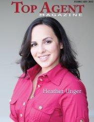 Heather Unger - Top Agent Magazine