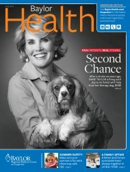 Grapevine - Baylor Online Newsroom - Baylor Health Care System