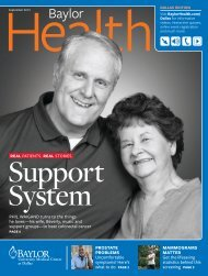 Dallas - Baylor Online Newsroom - Baylor Health Care System