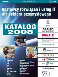 Dostawcy rozwiązań i usług IT dla sektora ... - MSI Polska