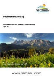 Informationszeitung - Ramsau am Dachstein