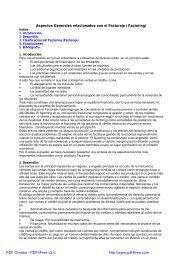 1. Introducción. 2. Desarrollo. 3. Clasificación del Factoring - Biblioteca