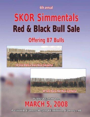 SKOR Simmentals - Transcon Livestock Corporation