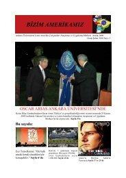 Aralık 2009 - Ankara Üniversitesi