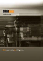 Annual Report 2008 - Buildmax.co.za