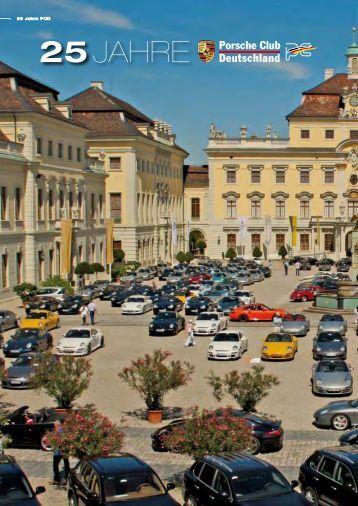 25 JAHRE - Porsche Club Deutschland