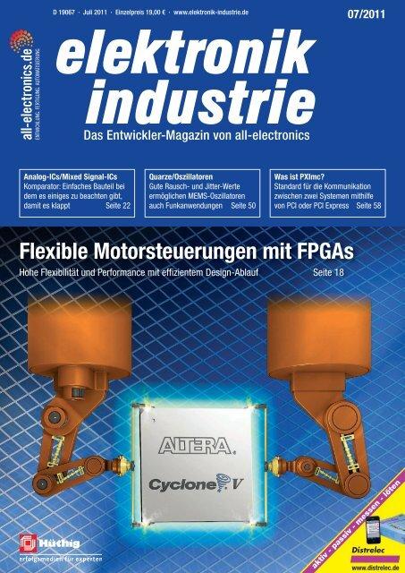 PDF-Ausgabe herunterladen (21.4 MB) - elektronik industrie