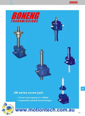 MOTORIZED SCREW PDF JACK