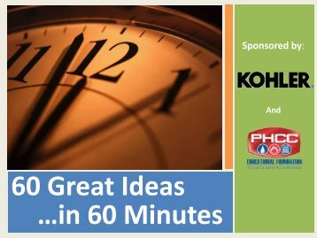 60 Great Ideas …in 60 Minutes
